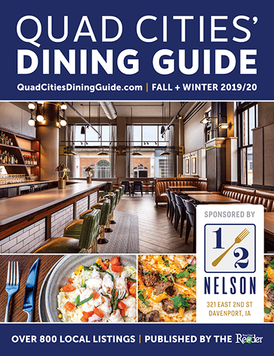 On Stands Now Dining Guide Cover