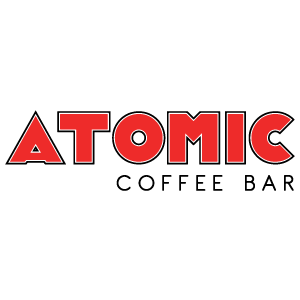 logo for Atomic Coffee Bar (Brady Street)