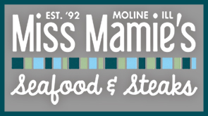logo for Miss Mamie's Seafood and Steaks