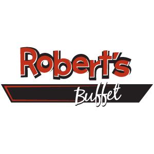 logo for Robert's Buffet at Rhythm City Casino Resort