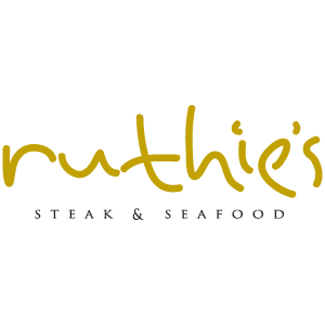 logo for Ruthie's Steak & Seafood at the Rhythm City Casino Resort