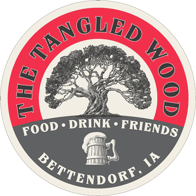 logo for The Tangled Wood